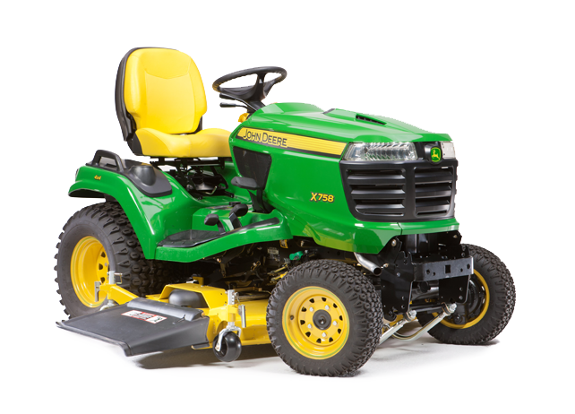 r4a032312 X758 642x462 5 Reasons to Invest in the John Deere X758 Signature Series Tractor