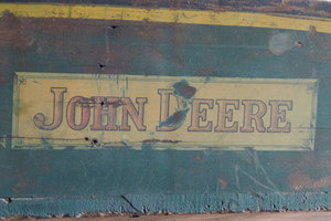 John Deere brand loyalists will have an opportunity to see vintage equipment in action at this weekend's Pioneer Farm Days show.