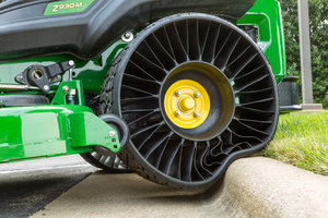 The MICHELIN X TWEEL TURF is designed to virtually eliminate tire downtime.