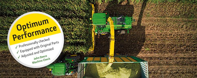 John Deere Forest Harvester Inspection
