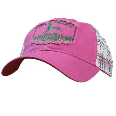 John Deere Vintage Plaid Cap