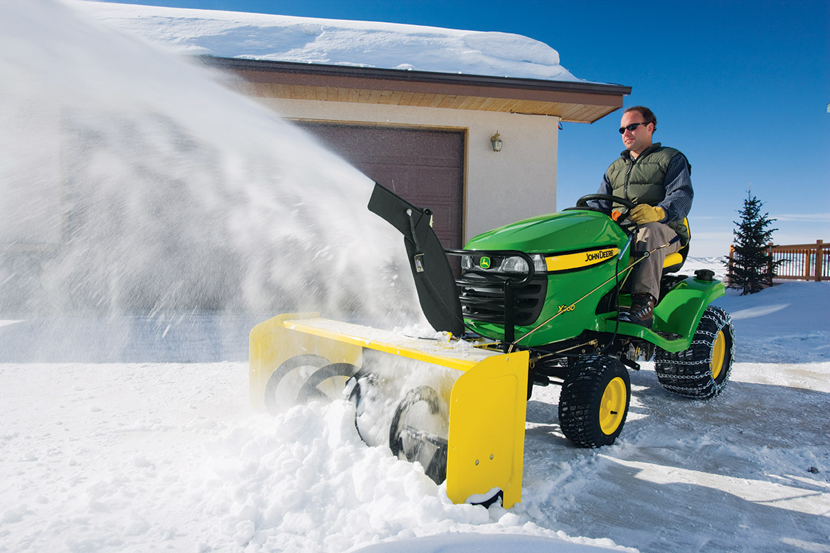 John Deere snow tires