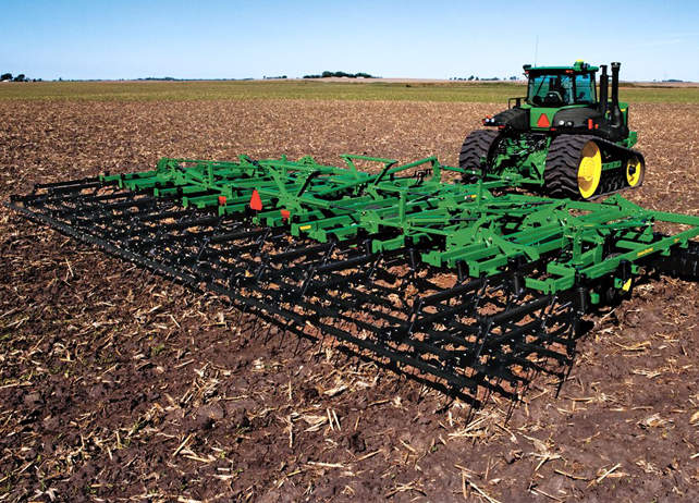 Readying The Seedbed With John Deere Secondary Tillage