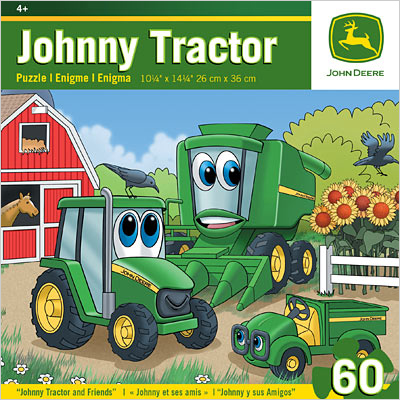 John Deere Johnny and Friends 60 Piece Puzzle