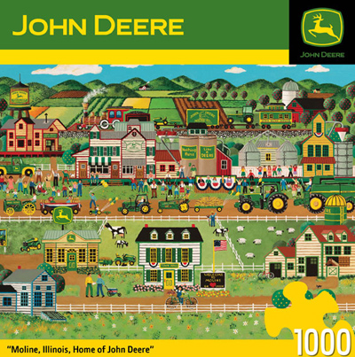 John Deere Home of Deere 1000 Piece Box Puzzle