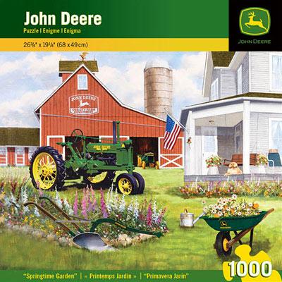 John Deere Springtime Garden 1000 Piece Puzzle