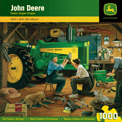 John Deere Our Family Heritage 1000 Piece Puzzle