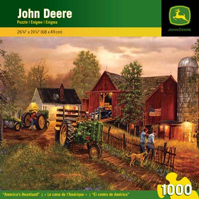 John Deere America's Heartland 1000 Piece Puzzle