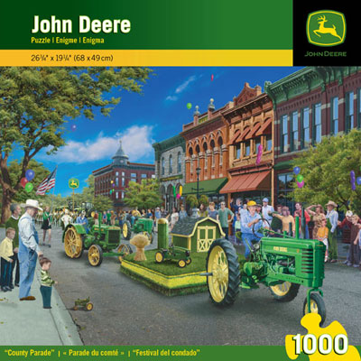 John Deere County Parade 1000 Piece Puzzle