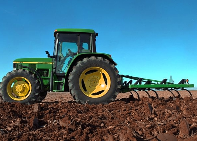 how to connect plow to john deere 6115m