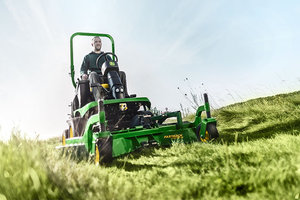 John Deere's 7400A TerrainCut Trim and Surrounds Mower and 8800A TerrainCut Rough Mower were recognized at the AE50 Awards for their innovative designs.
