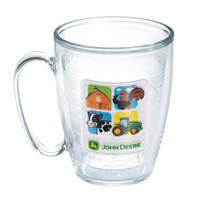 John Deere Farm Blocks Mug