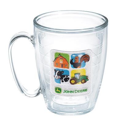 John Deere Farm Blocks Mug