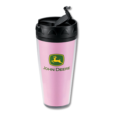 John Deere Pink Mug