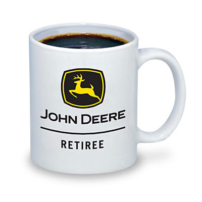 John Deere Retiree Black and Yellow