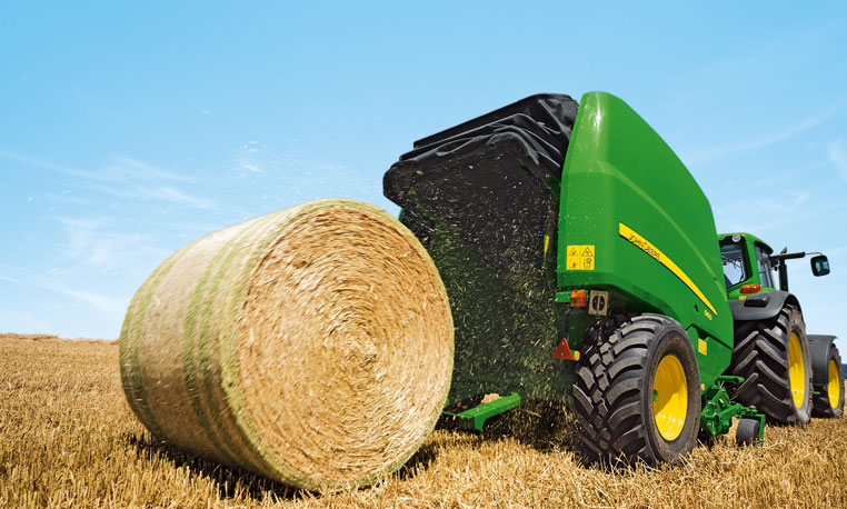 Warning: John Deere 900 Series Round Balers May Result in Envious