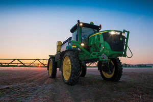 NORAC's Active Wing Roll is now available to owners of John Deere R-Series sprayers.