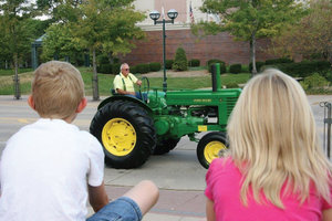 More than a hundred tractors are expected to participate in this year's North Iowa Tractor Ride.