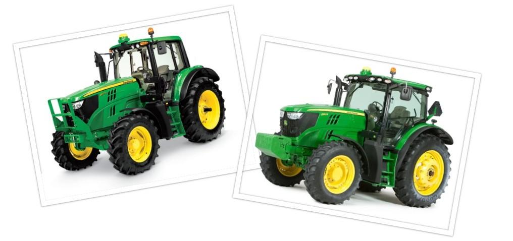 John Deere 6M and 6R Tractors