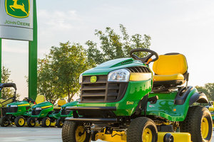 The John Deere S240 Sport is one of the new residential mower options designed to