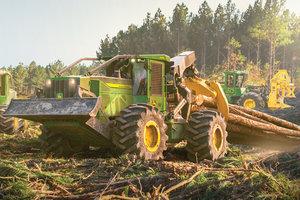 John Deere Gators >> John Deere Forestry Welcomes L-Series Skidders and Wheeled ...