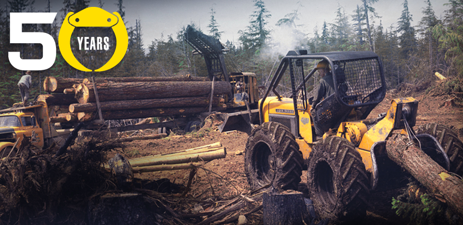 John Deere Skidder 50 Years