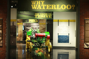 The 2015 AMC Engineering Conference will begin with a self-guided tour of the new John Deere Tractor and Engine Museum.