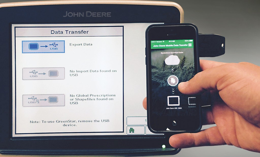 John Deere Mobile Data Transfer
