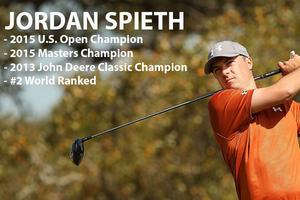 Previous John Deere Classic champion Jordan Spieth headlines a competitive 2015 field.