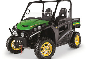 John Deere customer feedback is responsible for a number of the Gator RSX860i's key features.