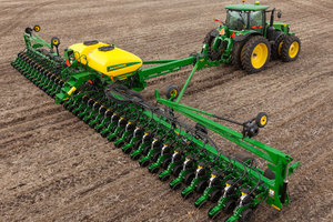 Crop producers are headed towards another record acreage of soybeans in 2015, breaking last year's record.