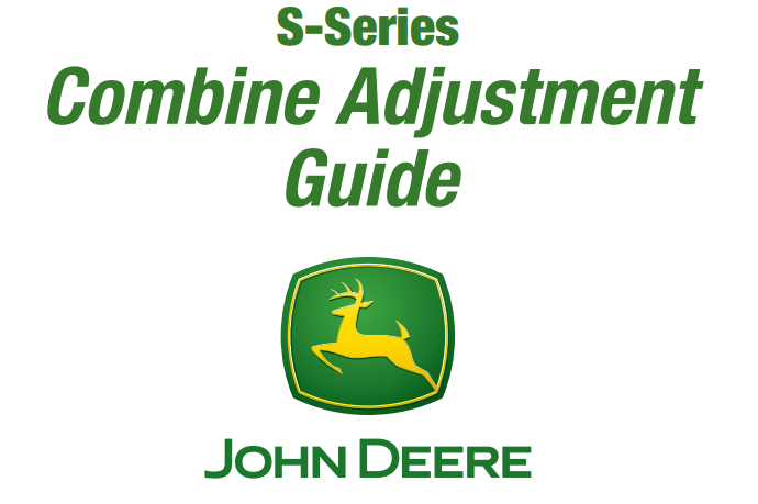 Combine Adjustment Guide
