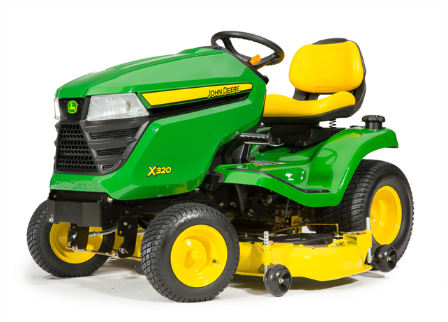 how can the john deere x320 boost efficiency around your. Black Bedroom Furniture Sets. Home Design Ideas
