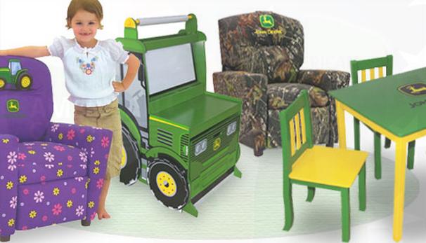 8 Unique Pieces Of John Deere Furniture For Children