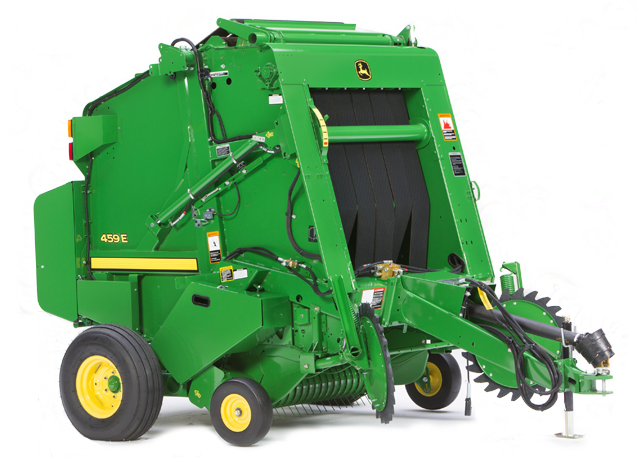 How Can the John Deere 459E Baler Help You Handle Your Hay?