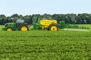 John Deere will showcase farm equipment along with hundreds of other exhibitors at the 35th Big Iron Farm Show.