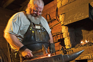 Students will spend time at the John Deere Pavilion, where they will learn more about John Deere, including the role of a blacksmith in earlier times.