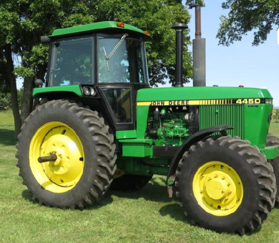 John Deere 4450 : John deere tractor sells for record price at south