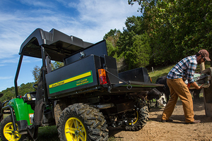 Many of the features found on the new 2016 Gator XUV 825i Special Edition are designed to benefit livestock customers.