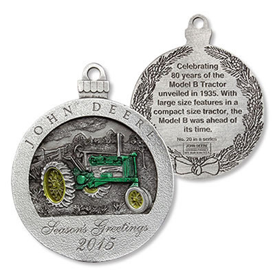 Deere Ornaments