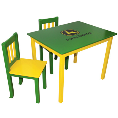 Deere Table and Chairs