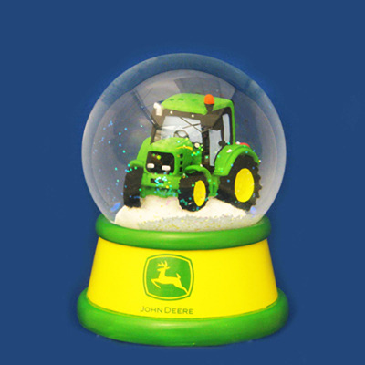 Tractor Water Globe