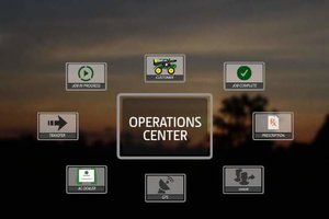 The John Deere Operations Center helps producers manage equipment information, production data, and farm operations from a single portal.