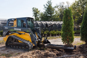 The Nursery Fork gives contractors a tool to easily transport materials up to 3,000 pounds.