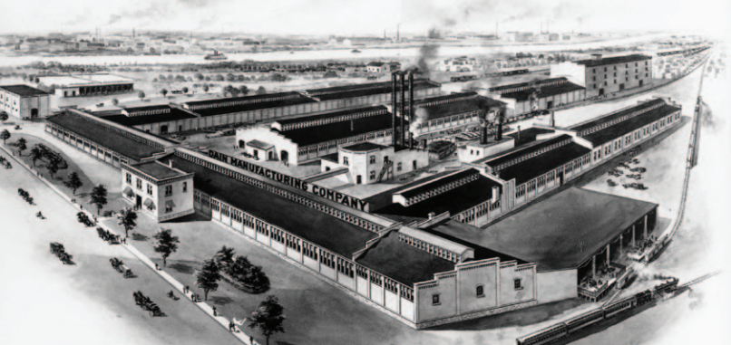 Early Hay Equipment Factory
