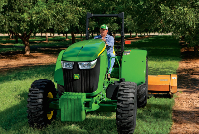 Low Profile Tractor : John deere low profile tractors for high performance