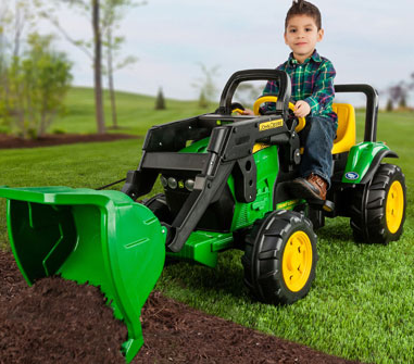 Plastic Pedal Tractor with Loader