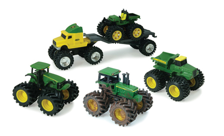 John Deere Monster Treads Gift Set