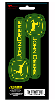 Looking For Something That Will Span Wide Across Your Product? This  Horizontal Decal Will Do The Trick With Its John Deere Lettering And Logo. Part 86