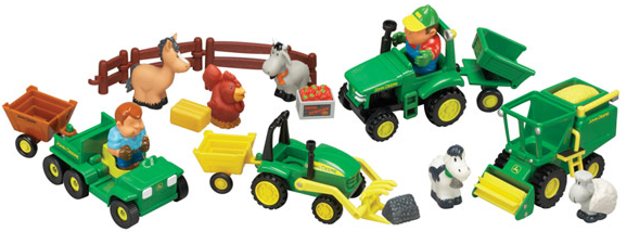 John Deere Fun on the Farm Playset